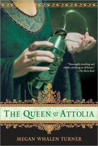Cover of Queen of Attolia by Megan Whalen Turner