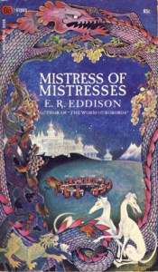 Cover of Mistress of Mistresses by E.R. Edison