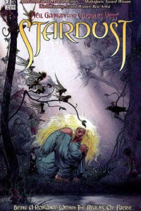 Cover of the Illustrated Stardust, by Neil Gaiman and Charles Vess