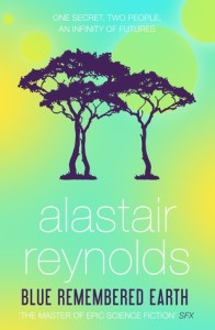 Cover of Blue Remembered Earth by Alistair Reynolds