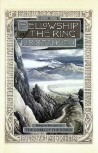 Cover of The Fellowship of the Ring by Tolkien