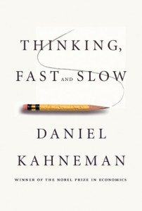 Cover of Thinking, Fast and Slow by Daniel Kahneman