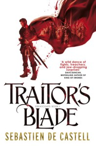 Cover of Traitor's Blade by Sebastien de Castell
