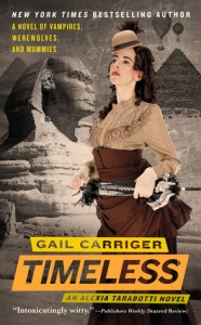 Cover of Timeless by Gail Carriger