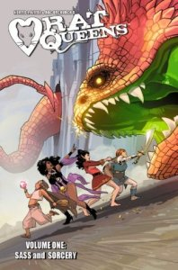Cover of Rat Queens: Sass and Sorcery