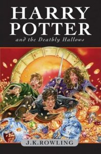 Cover of Harry Potter and the Deathly Hallows by J.K. Rowling