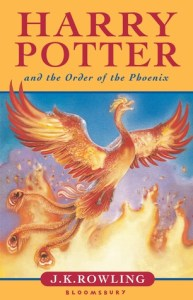Cover of Harry Potter and the Order of the Phoenix by J.K. Rowling