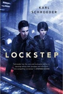 Cover of Lockstep by Karl Schroeder