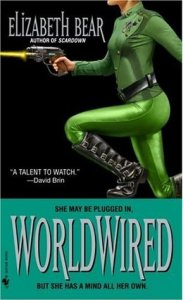 Cover of Worldwired by Elizabeth Bear