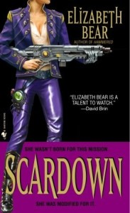 Cover of Scardown by Elizabeth Bear