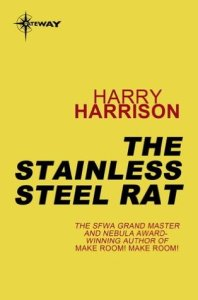 Cover of The Stainless Steel Rat by Harry Harrison