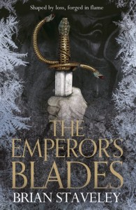 Cover of The Emperor's Blades by Brian Staveley