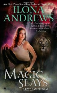 Cover of Magic Slays by Ilona Andrews