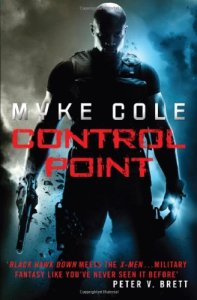 Cover of Control Point by Myke Cole