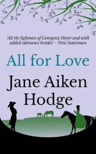 Cover of All For Love by Jane Aiken Hodge