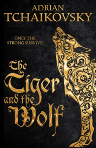 Cover of The Tiger and the Wolf by Adrian Tchiakovsky