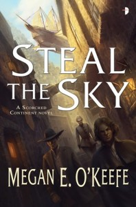 Cover of Steal the Sky by Megan O'Keefe