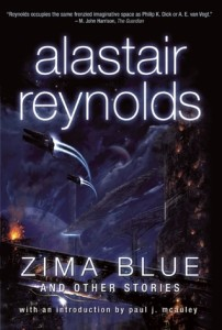 Cover of Zima Blue by Alastair Reynolds