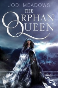 Cover of The Orphan Queen by Jodi Meadows