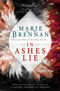 Cover of In Ashes Lie by Marie Brennan