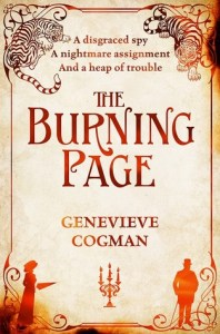 Cover of The Burning Page by Genevieve Cogman