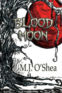 Cover of Blood Moon by M.J. O'Shea