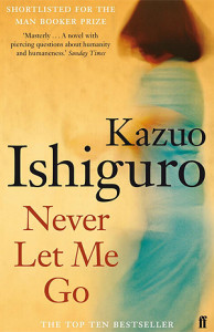 Cover of Never Let Me Go by Kazuo Ishiguro