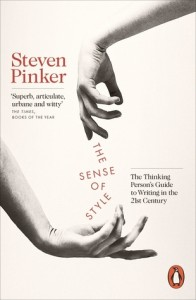 Cover of The Sense of Style by Steven Pinker