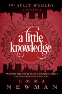 Cover of A Little Knowledge by Emma Newman