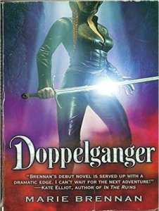 Cover of Doppelganger by Marie Brennan