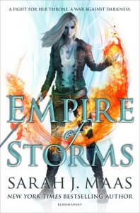 Cover of Empire of Storms by Sarah J. Maas