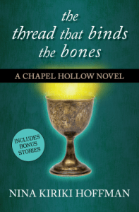Cover of The Thread That Binds the Bones by Nina Kiriki Hoffman