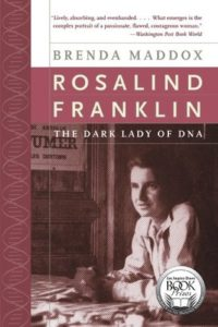 Cover of Rosalind Franklin by Brenda Maddox