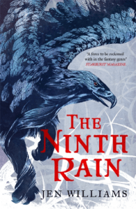 Cover of The Ninth Rain by Jen Williams
