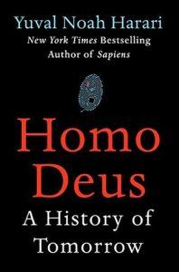 Cover of Homo Deus by Yuval Noah Harari