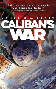 Cover of Caliban's War by James S.A. Corey