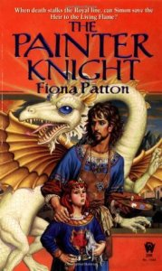 Cover of The Painter Knight by Fiona Patton