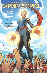 Cover of Captain Marvel: Alien Nation