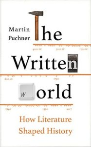 Cover of The Written World by Martin Puchner