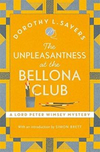 Cover of The Unpleasantness at the Bellona Club by Dorothy L. Sayers