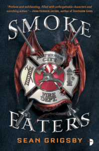 Cover of Smoke Eaters by Sean Grigsby
