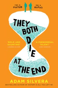 Cover of They Both Die At the End by Adam Silvera