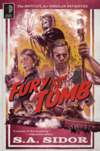 Cover of Fury of the Tomb by S.A. Sidor
