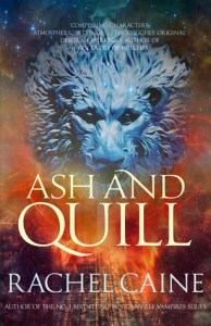 Cover of Ash and Quill by Rachel Caine