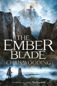 Cover of The Ember Blade by Chris Wooding