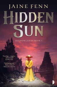 Cover of Hidden Sun by Jaine Fenn