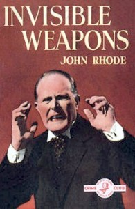 Cover of Invisible Weapons by John Rhode