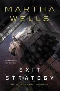Cover of Exit Strategy by Martha Wells