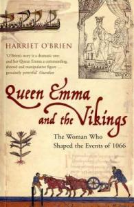 Cover of Queen Emma and the Vikings by Harriet O'Brien