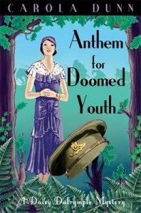 Cover of Anthem for Doomed Youth by Carola Dunn.